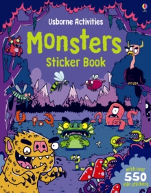 Monsters Sticker Book, Paperback Book