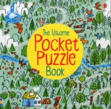 Pocket Puzzle Book, Paperback Book
