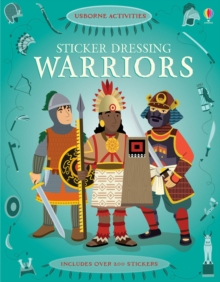 Sticker Dressing Warriors, Paperback Book