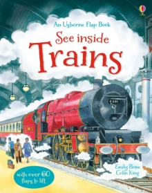See Inside Trains, Hardback Book