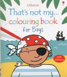That's Not My... Colouring Book for Boys, Paperback Book