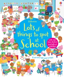 Lots of things to spot at school, Paperback Book