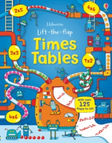 Lift the Flap Times Tables Book, Hardback Book