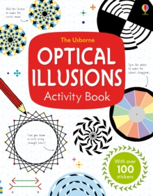 Optical Illusions Activity Book, Paperback Book