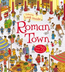 Look Inside a Roman Town, Hardback Book