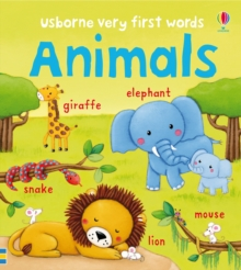 Very First Words Animals, Board book Book