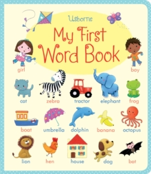 My First Word book, Board book Book