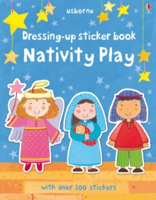 Dressing-Up Sticker Book Nativity Play, Paperback Book