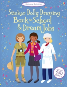 Sticker Dolly Dressing: Back to School and Dream Jobs, Paperback Book