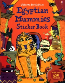 Egyptian Mummies Sticker Book, Paperback Book