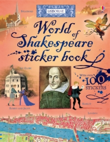 World of Shakespeare Sticker Book, Paperback Book