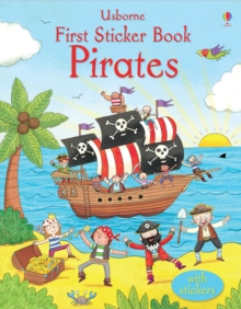 First Sticker Book Pirates, Paperback Book