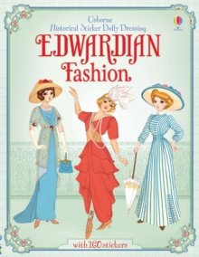 Sticker Dolly Dressing Historical Edwardian Fashion, Paperback Book