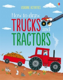How to Draw Trucks and Tractors, Paperback Book