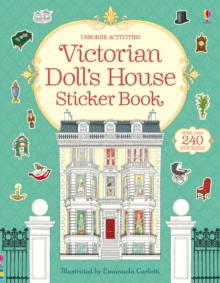 Victorian Doll's House Sticker Book, Paperback Book