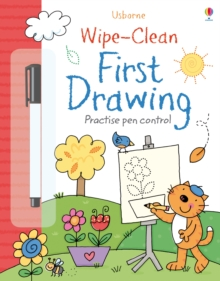Wipe-Clean First Drawing, Paperback Book