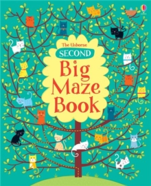 Second Big Maze Book, Paperback Book