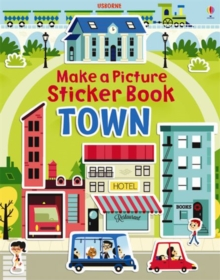 Make a Picture Sticker Book Towns, Paperback Book
