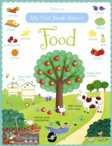 My First Book About Food, Paperback Book