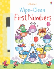 Wipe-Clean First Numbers, Paperback Book