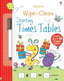 Wipe-Clean Starting Times Tables, Paperback Book