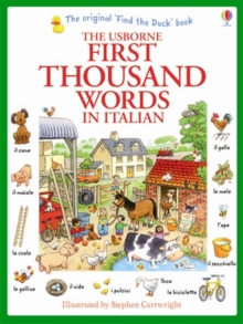 First Thousand Words in Italian, Paperback Book