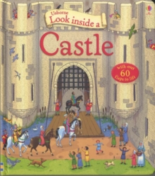 Look Inside a Castle, Hardback Book