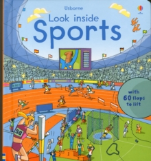 Look Inside Sports, Hardback Book