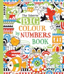 Big Colour by Numbers Book, Paperback Book