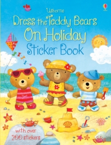 Dress the Teddy Bears On Holiday Sticker Book, Paperback Book