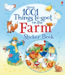 1001 Things to Spot on the Farm Sticker Book, Paperback Book
