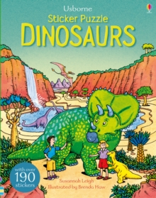 Sticker Puzzle Dinosaurs