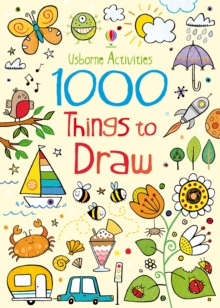 1000 Things to Draw, Paperback Book