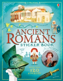 Ancient Romans Sticker Book, Paperback Book