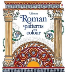 Roman Patterns to Colour, Paperback Book