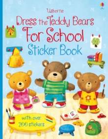 Dress the Teddy Bears for School, Paperback Book