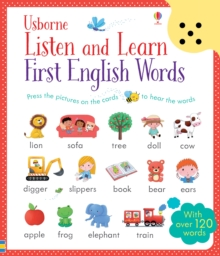 Listen and Learn First English Words, Paperback Book