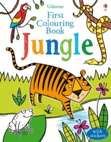 First Colouring Book Jungle, Paperback Book