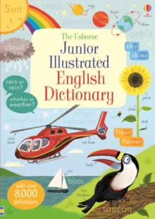 Junior Illustrated English Dictionary, Paperback Book
