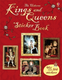 Kings and Queens Sticker Book, Paperback Book