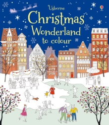 Christmas Wonderland to Colour, Paperback Book
