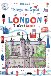 Things to Spot in London Sticker Book, Paperback Book