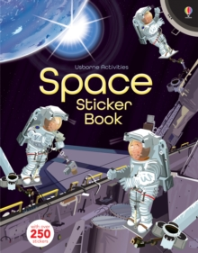 Space Sticker Book, Paperback Book