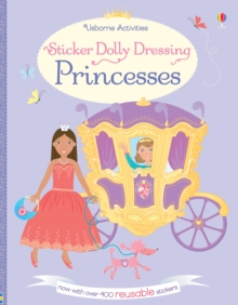 Sticker Dolly Dressing Princesses, Paperback Book