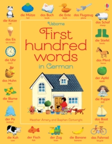 First Hundred Words in German, Paperback Book