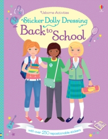 Sticker Dolly Dressing Back to School, Paperback Book