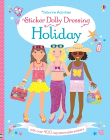 Sticker Dolly Dressing Holiday, Paperback Book