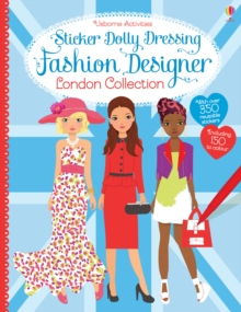 Sticker Dolly Dressing Fashion Designer London Collection, Paperback Book
