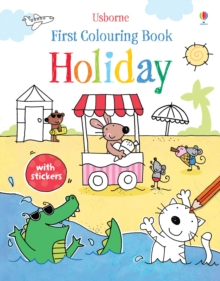 First Colouring Book Holiday, Paperback Book