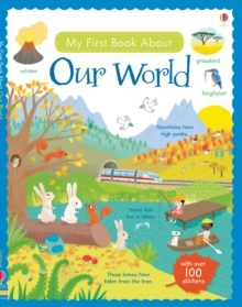 My First Book About Our World Sticker Book, Paperback Book